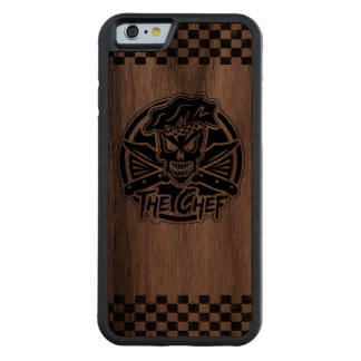 FUNDA PROTECTORA DE NOGAL PARA iPhone 6 DE CARVED