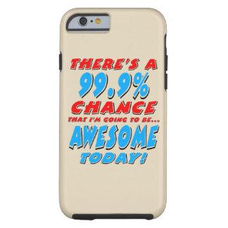Funda Resistente iPhone 6 99,9% El IR A SER IMPRESIONANTE (negro)