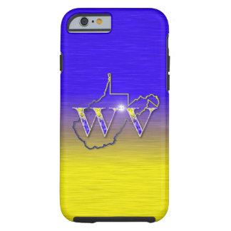 Funda Resistente iPhone 6 Amarillo y azul de WV