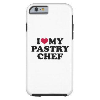 Funda Resistente iPhone 6 Amo a mi chef de repostería