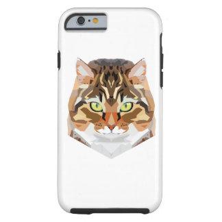 Funda Resistente iPhone 6 Arte del gato
