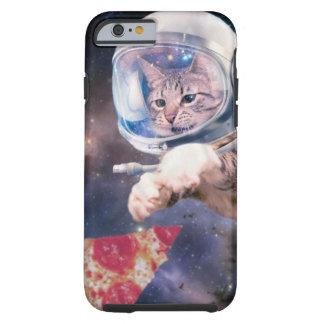 Funda Resistente iPhone 6 astronauta del gato - gatos divertidos - gatos en