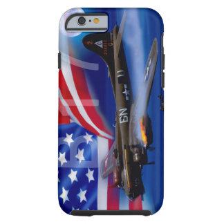 Funda Resistente iPhone 6 B17 con la bandera americana