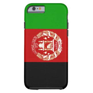 Funda Resistente iPhone 6 Bandera nacional del mundo de Afganistán