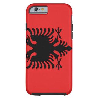 Funda Resistente iPhone 6 Bandera nacional del mundo de Albania