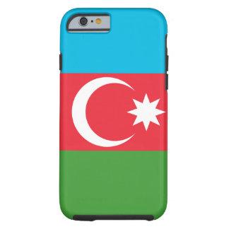 Funda Resistente iPhone 6 Bandera nacional del mundo de Azerbaijan