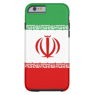 Funda Resistente iPhone 6 Bandera nacional del mundo de Irán