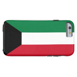 Funda Resistente iPhone 6 Bandera nacional del mundo de Kuwait