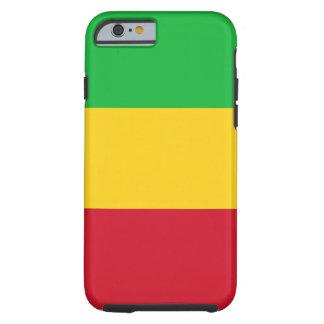 Funda Resistente iPhone 6 Bandera nacional del mundo de Malí
