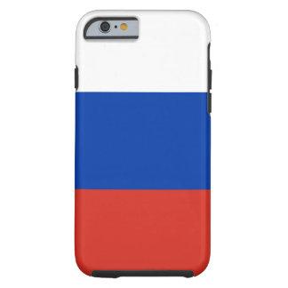 Funda Resistente iPhone 6 Bandera nacional del mundo de Rusia