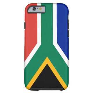 Funda Resistente iPhone 6 Bandera nacional del mundo de Suráfrica