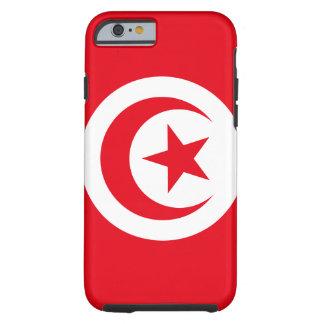 Funda Resistente iPhone 6 Bandera nacional del mundo de Túnez
