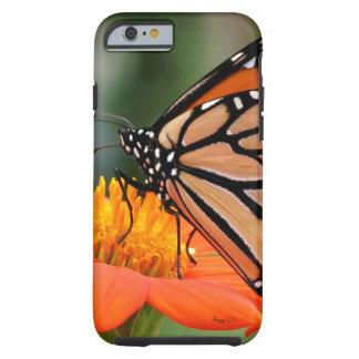 Funda Resistente iPhone 6 Caja botánica del teléfono de la flor del vuelo de