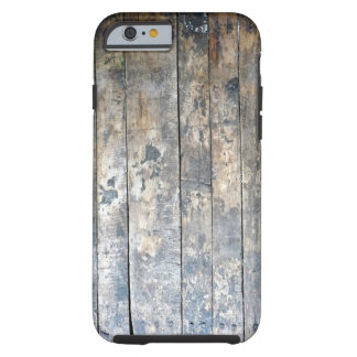 Funda Resistente iPhone 6 Caja de madera antigua del teléfono celular del
