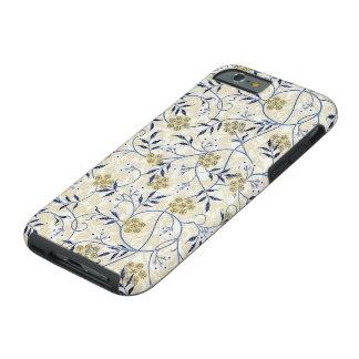 Funda Resistente iPhone 6 Caja dura azul del iPhone 6/6S del jazmín