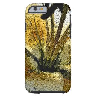 Funda Resistente iPhone 6 Caja floral imaginaria del teléfono de la vida de
