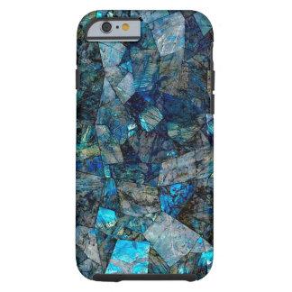 Funda Resistente iPhone 6 Caso abstracto artsy del iPhone 6/6s de las gemas