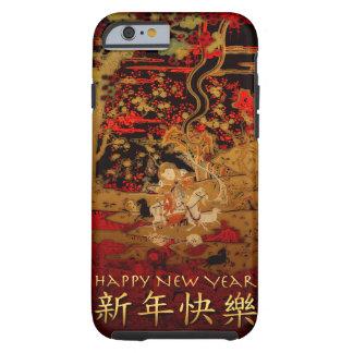 Funda Resistente iPhone 6 Caso chino del iPhone del Año Nuevo de la cabra de