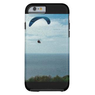 Funda Resistente iPhone 6 Caso de IPhone 6/6s, playa del negro del glidder