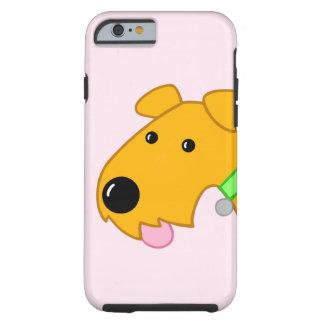 Funda Resistente iPhone 6 Caso del iPhone 6/6s del perro de Airedale del