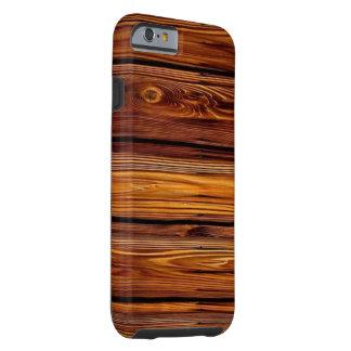 Funda Resistente iPhone 6 Caso duro de madera del iPhone 6/6S del granero