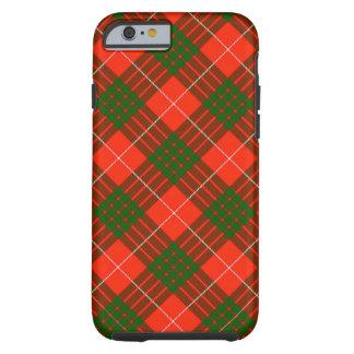 Funda Resistente iPhone 6 Caso duro del iPhone 6/6S del tartán de Crawford