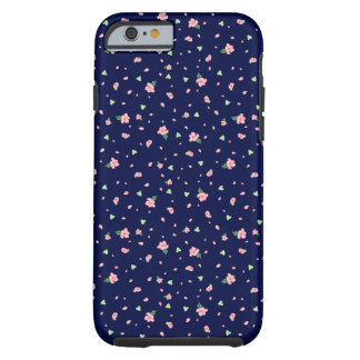 Funda Resistente iPhone 6 Caso floral rosado dulce iPhone6