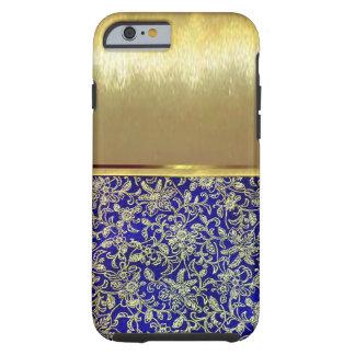 Funda Resistente iPhone 6 caso fresco del diseño del oro de Shell del iPhone