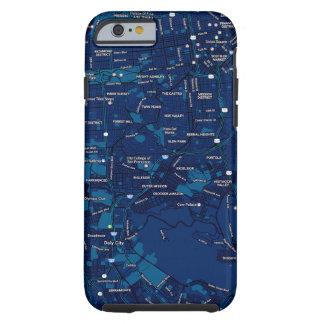 Funda Resistente iPhone 6 Caso hermoso del iPhone de San Francisco
