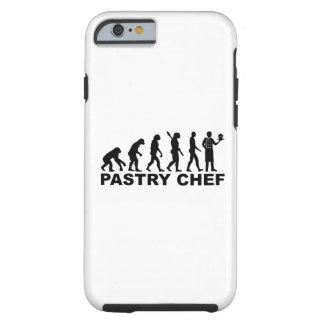 Funda Resistente iPhone 6 Chef de repostería de la evolución