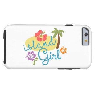 Funda Resistente iPhone 6 Chica de la isla