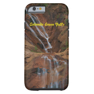 Funda Resistente iPhone 6 Colorado iPhone duro 6/6s de la casamata de siete