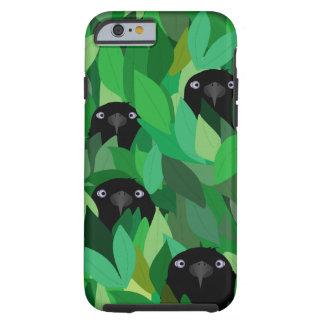 Funda Resistente iPhone 6 Consumición del iPhone 6/6s del cuervo, caja dura