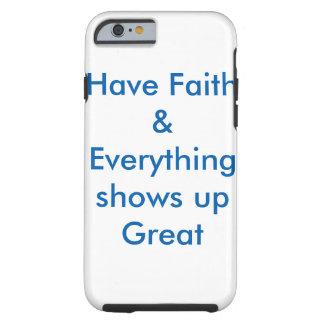 Funda Resistente iPhone 6 Cubierta inspiradora de la caja del teléfono