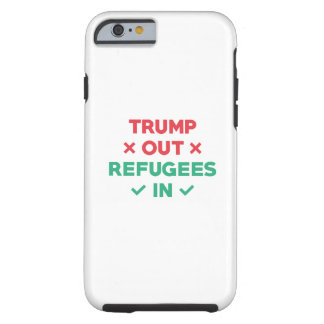 Funda Resistente iPhone 6 Del triunfo refugiados hacia fuera adentro