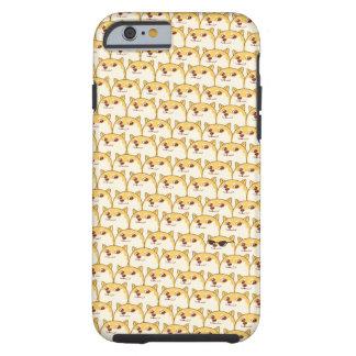 Funda Resistente iPhone 6 DUX LINDO Meme Shibe Inu wow… tan muchos