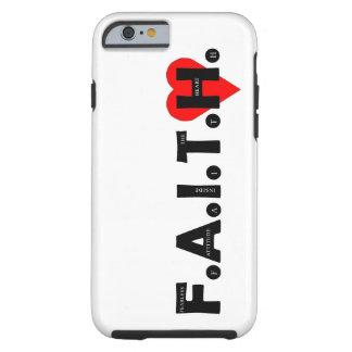 Funda Resistente iPhone 6 El caso de la protección de F.A.I.T.H. IPhone
