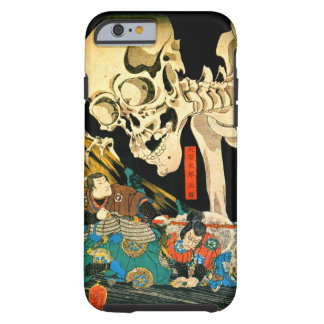 Funda Resistente iPhone 6 Esqueleto convocado por la bella arte de Kuniyoshi