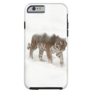 Funda Resistente iPhone 6 Exposición-fauna tigre-Tigre-doble siberiana