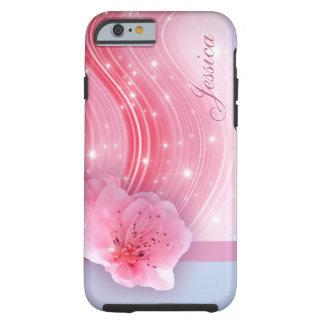 Funda Resistente iPhone 6 Flor rosado de la primavera