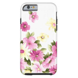 Funda Resistente iPhone 6 Flores florecientes femeninas coloridas adorables