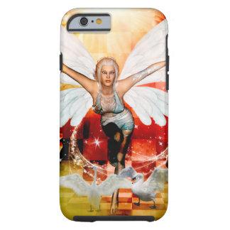 Funda Resistente iPhone 6 Hada maravillosa con el cisne