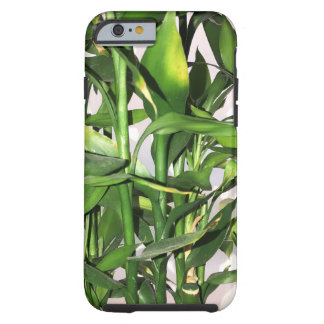 Funda Resistente iPhone 6 Hojas del verde y planta de la casa de los brotes