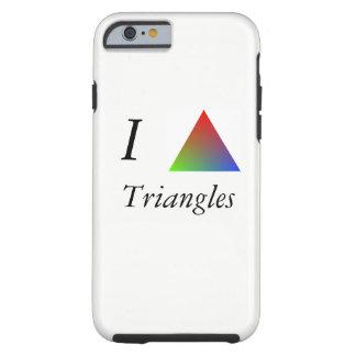 Funda Resistente iPhone 6 I triángulos del corazón