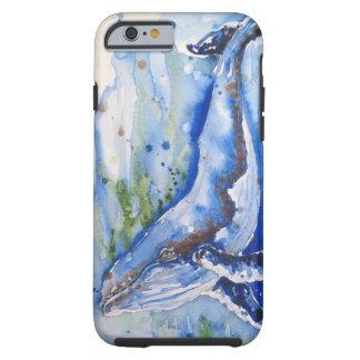 Funda Resistente iPhone 6 Infante de marina de la ballena jorobada del