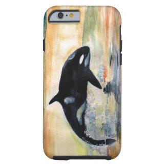 Funda Resistente iPhone 6 iPhone 6/6s de la ballena de la orca, duro