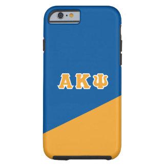 Funda Resistente iPhone 6 Letras alfa del Griego de Kappa PSI el |