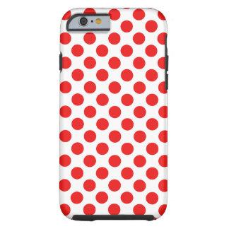 Funda Resistente iPhone 6 Lunares rojos
