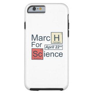 Funda Resistente iPhone 6 Marzo para la ciencia
