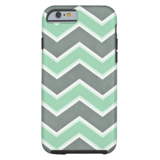 Funda Resistente iPhone 6 Menta Chevron